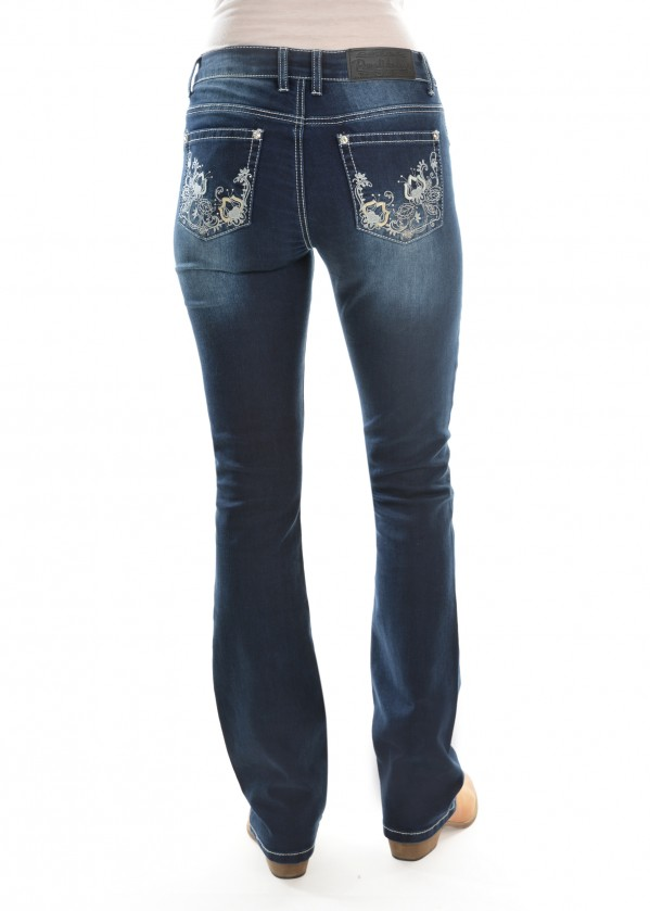 WOMENS ROSIE BOOT CUT JEAN 34 LEG