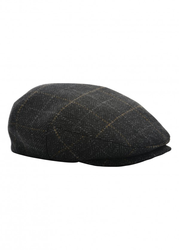 MENS CHECK DRIVER CAP