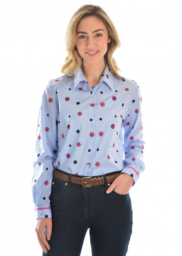WOMENS GINA L/S TUNIC SHIRT