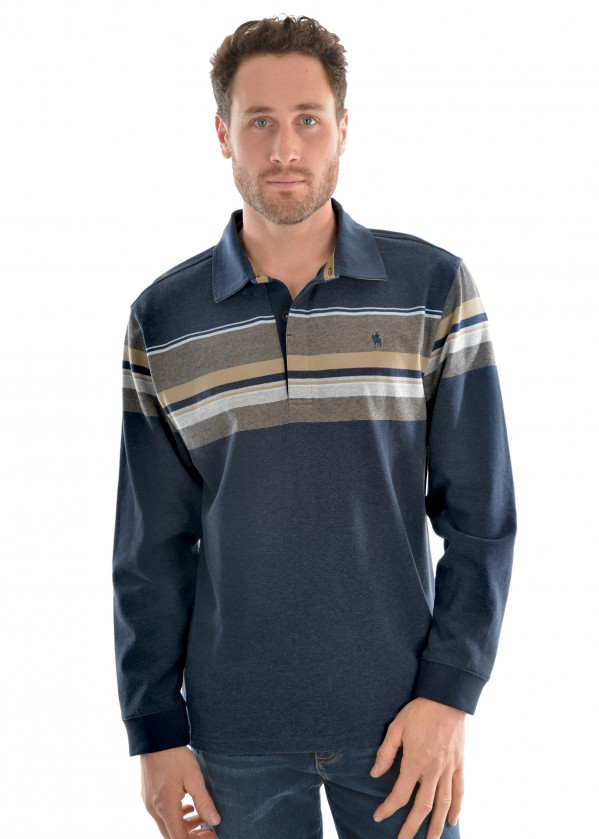 MENS PEARSON STRIPE RUGBY