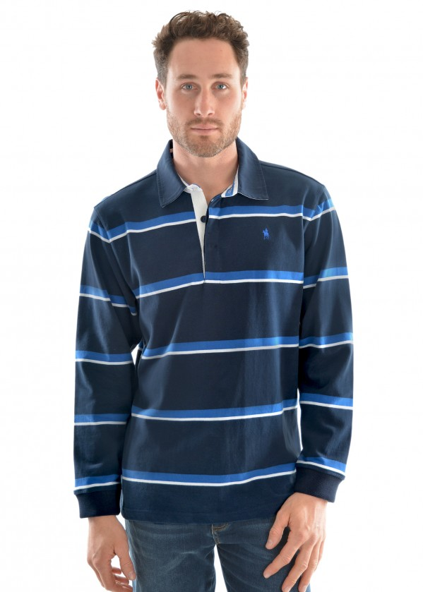 MENS NARRUNG STRIPE RUGBY