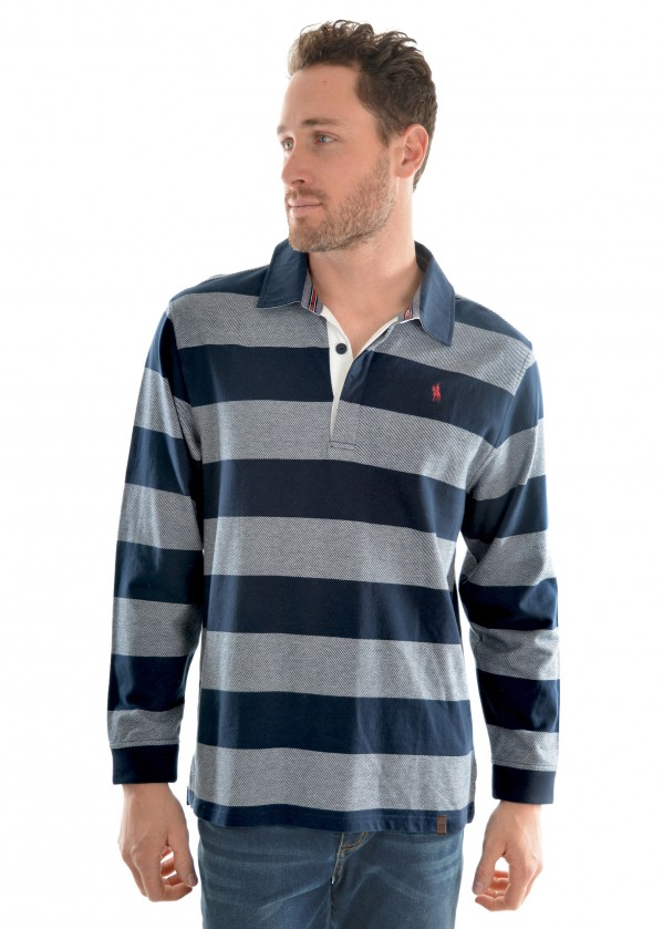 MENS PAXTON STRIPE RUGBY