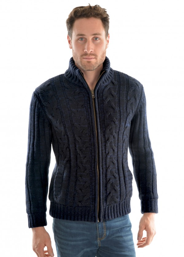 MENS BEACON ZIP THRU JACKET
