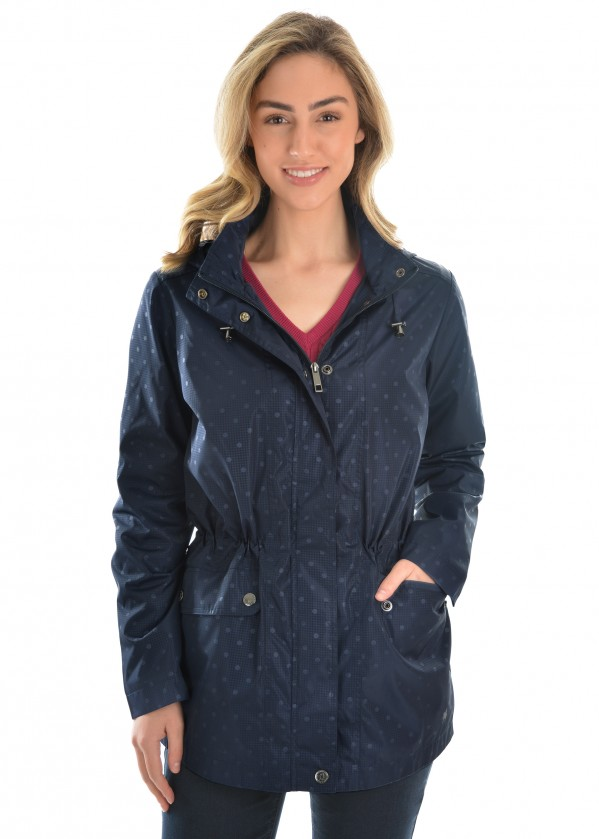 WOMENS SPOT RAINCOAT