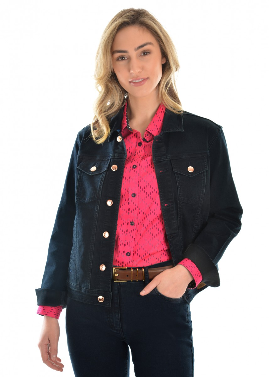 WOMENS ANGEL DENIM JACKET