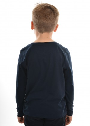 BOYS UTE AND DOG L/S TOP