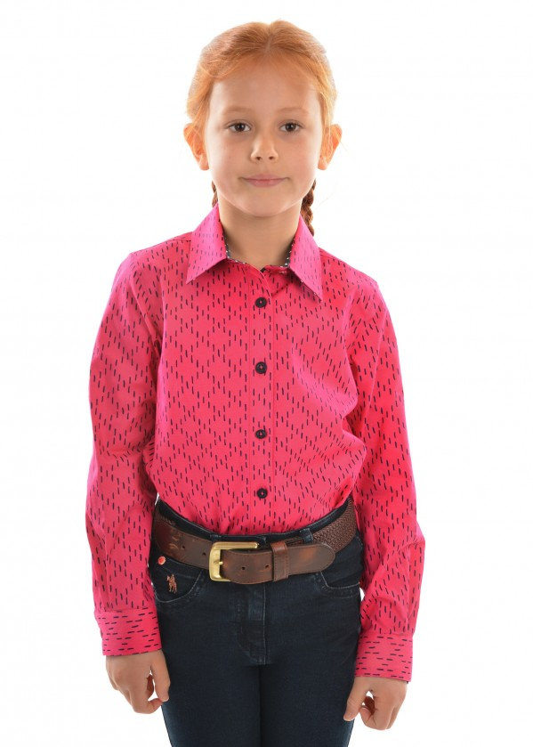 GIRLS BECCY L/S SHIRT