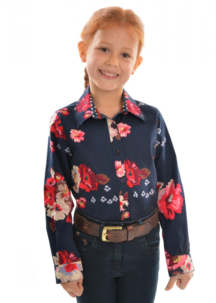 GIRLS CAITLYN L/S SHIRT