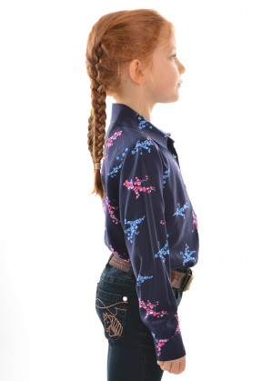GIRLS MELINDA L/S SHIRT