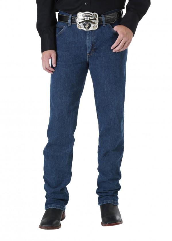 MENS P.PERF COWBOY CUT ADVANCED COMFORT REGULAR FIT JEAN - 34 LEG