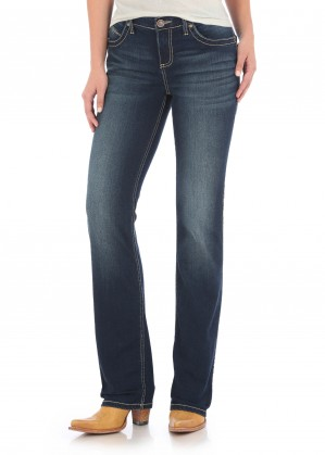 WOMENS ULTIMATE RIDING JEAN - Q BABY - 36 LEG