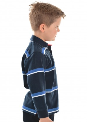 BOYS NARRUNG STRIPE RUGBY