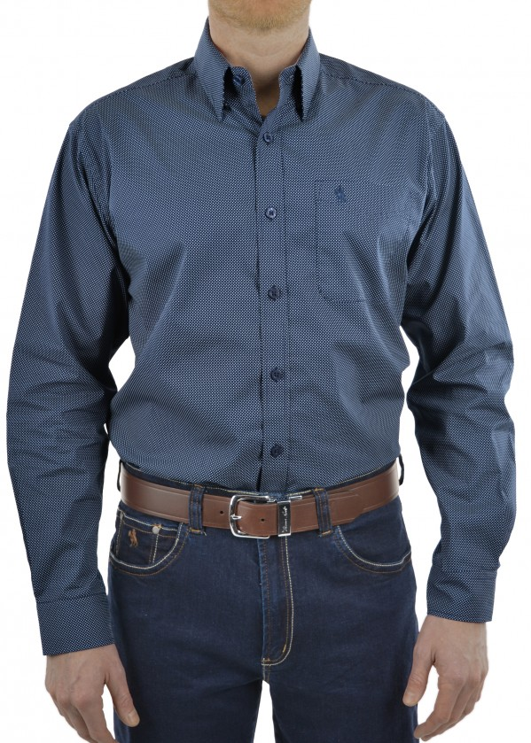 MENS OAKS 1 POCKET L/S SHIRT