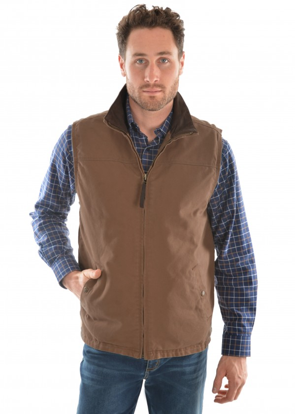 MENS TC CANVAS VEST