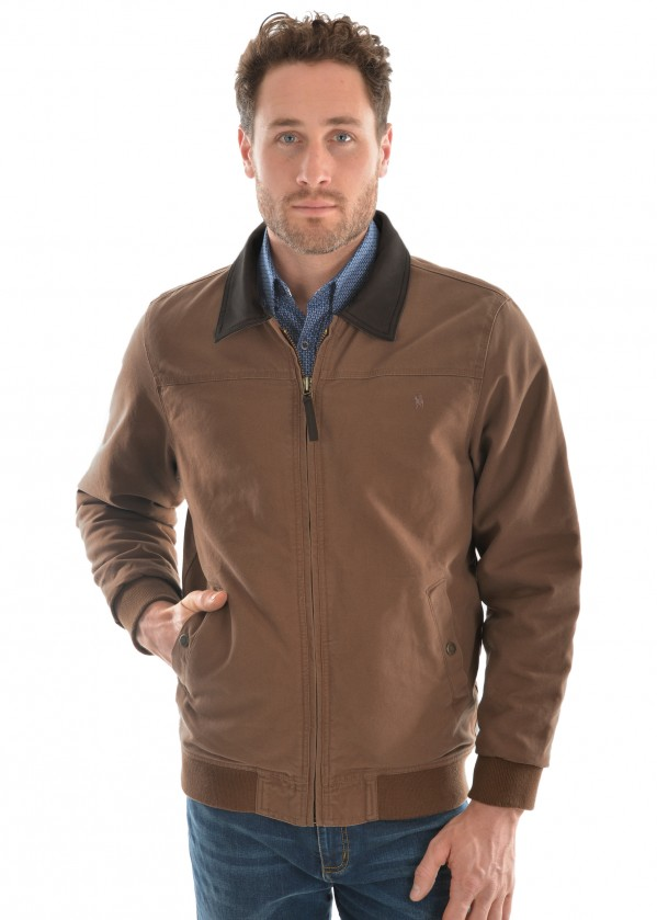 MENS TC CANVAS BOMBER