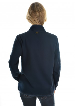 WOMENS ZIP THRU FLEECE JACKET