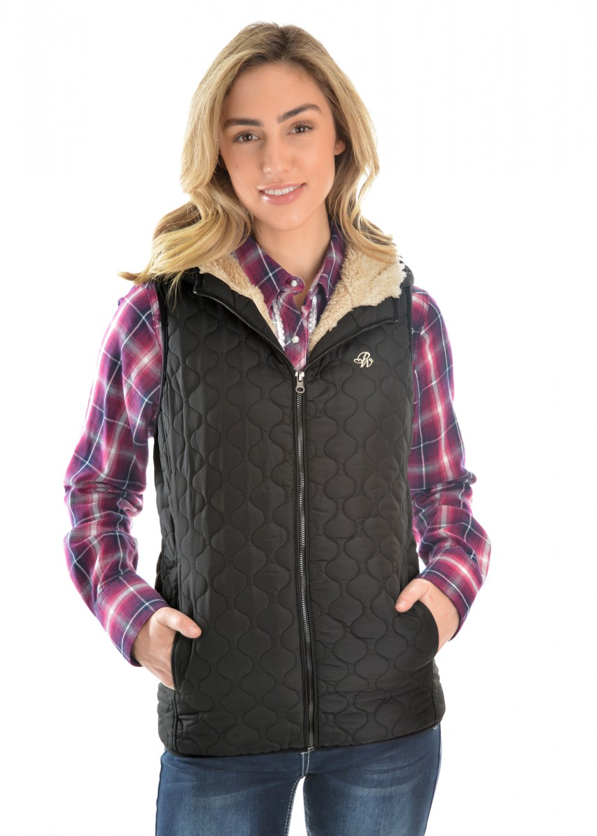 WOMENS JENNA QUILTED VEST