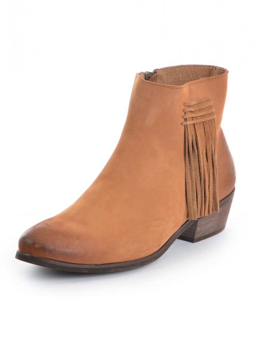WOMENS TASSEL ANKLE
