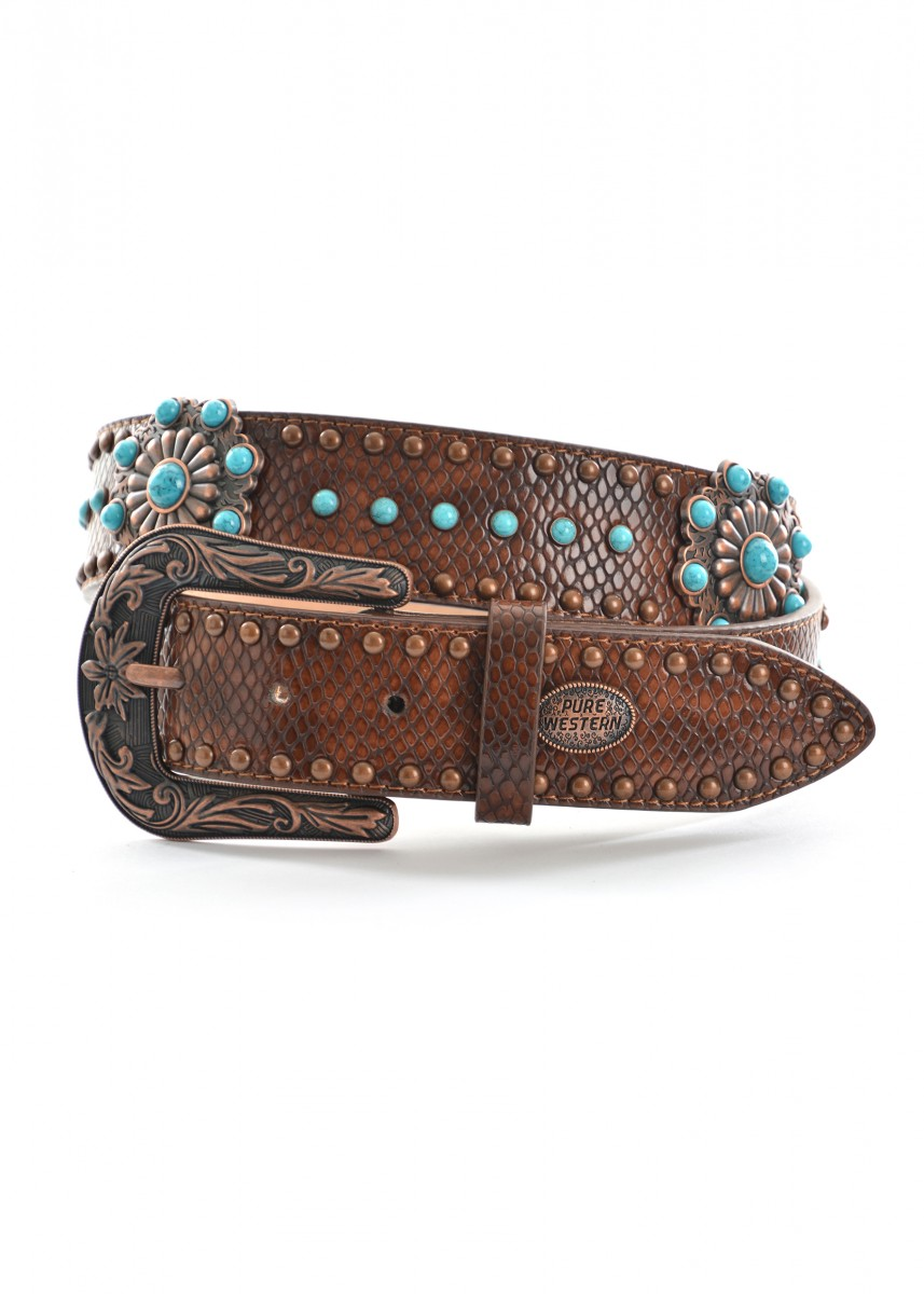 WOMENS MEDUSA BELT
