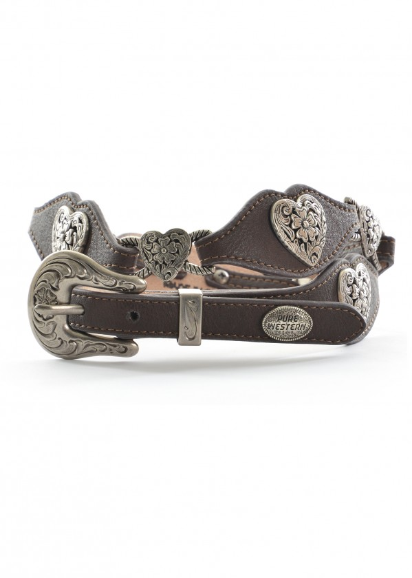 WOMENS HEART BELT