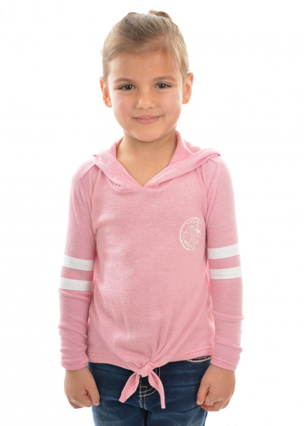 GIRLS ABBEY TIE FRONT TOP