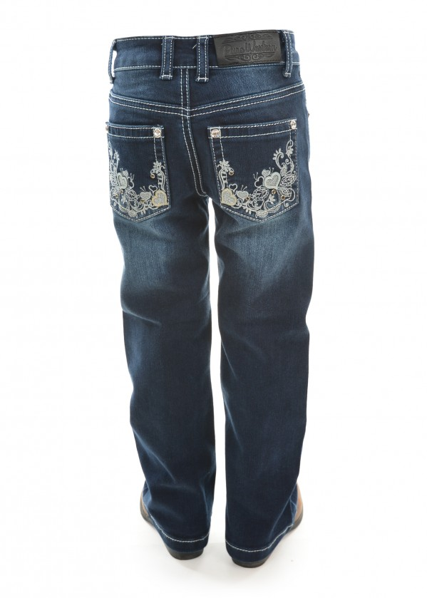 GIRLS ROSIE BOOT CUT JEAN