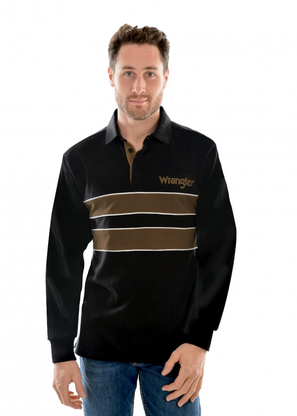 MENS RANKIN STRIPE RUGBY