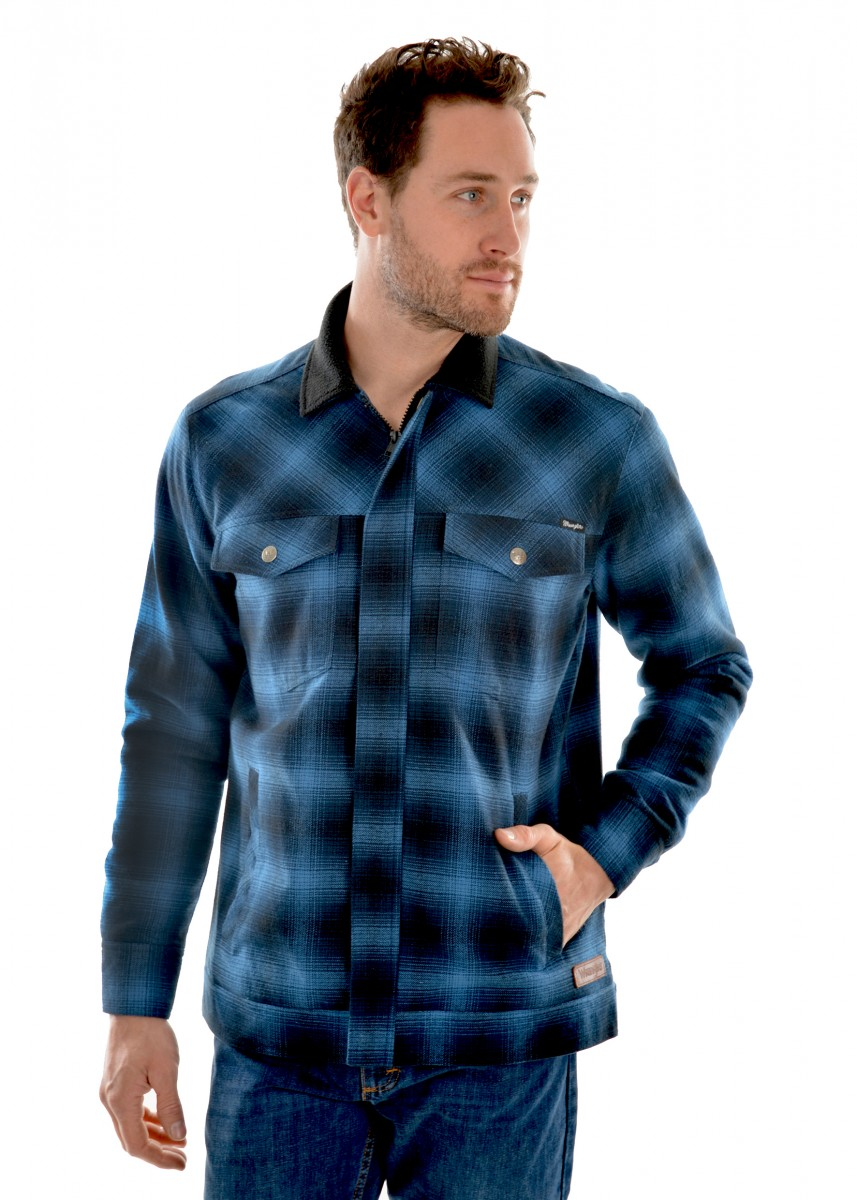 MENS KELVIN SHIRT JACKET