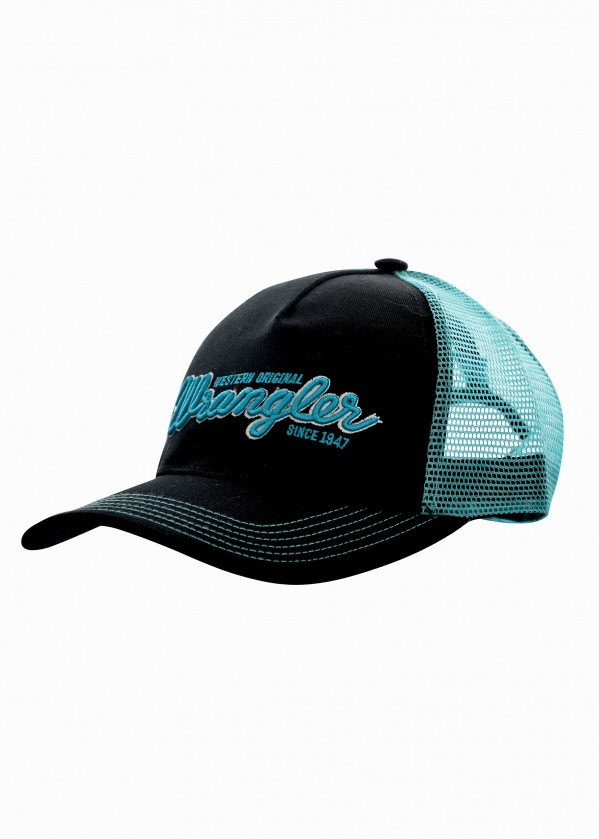 MENS LOGO TRUCKER CAP