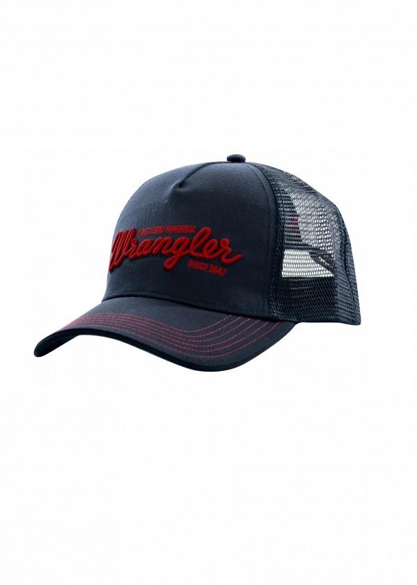 MENS LOGO TRUCKER CAP