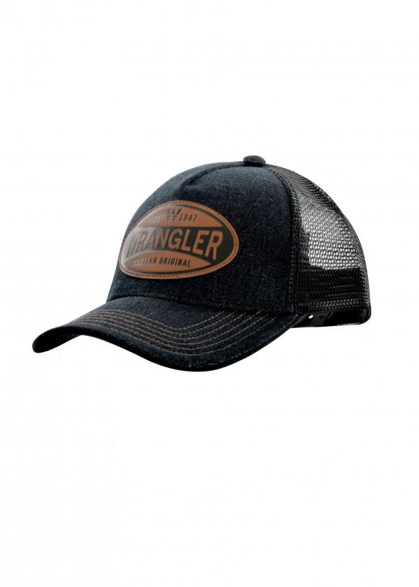 MENS DENIM TRUCKER CAP