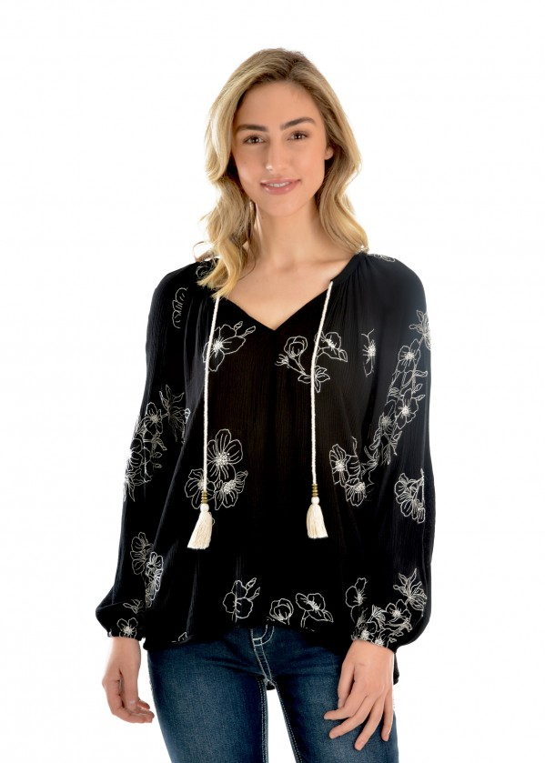 WOMENS JANET BLOUSE