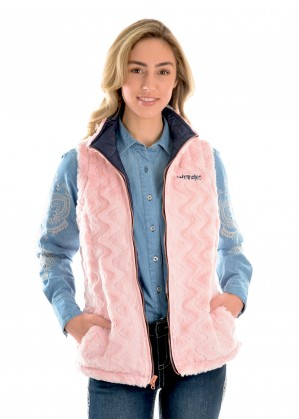 WOMENS AMY REVERSIBLE  QUILTED VEST