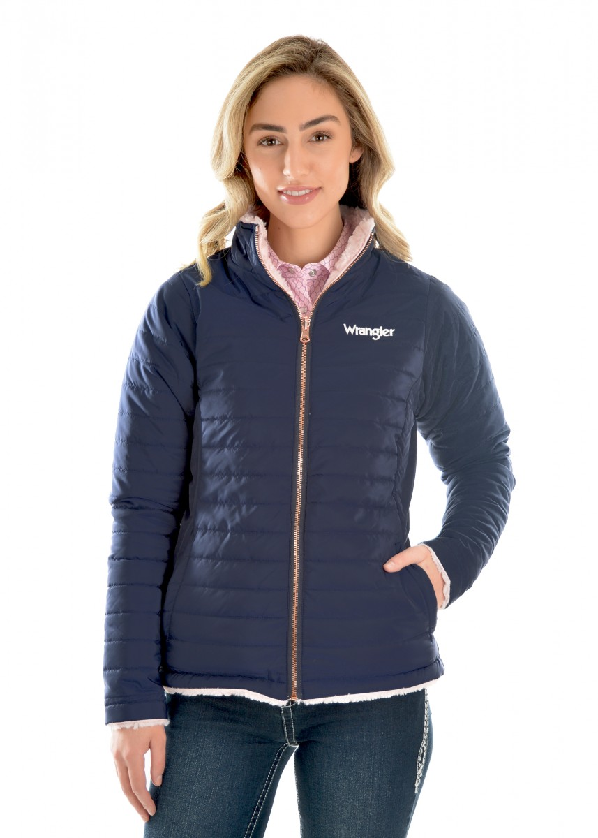 WOMENS AMY REVERSIBLE  QUILTED JACKET