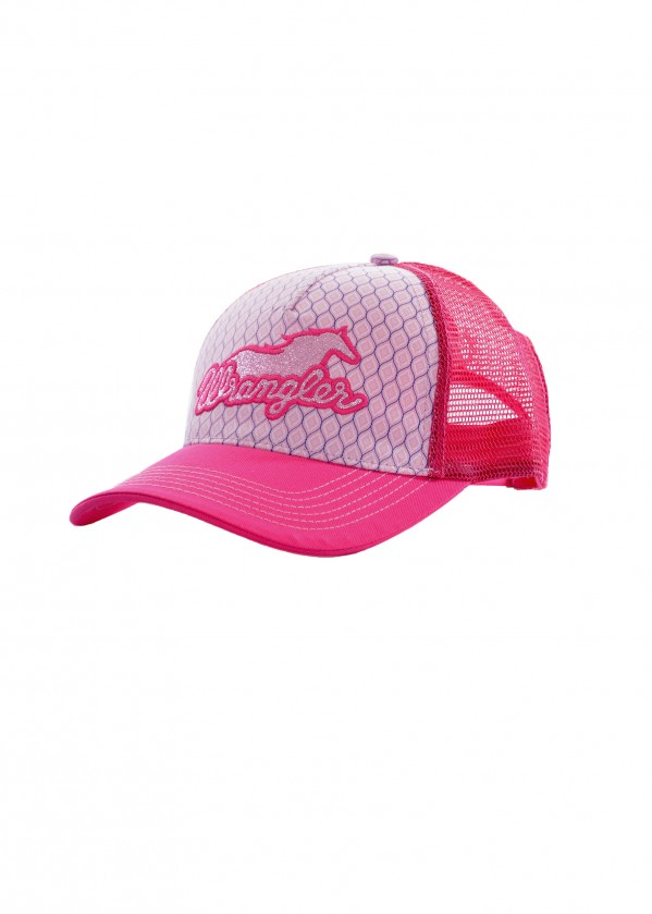 GIRLS LACEY TRUCKER CAP