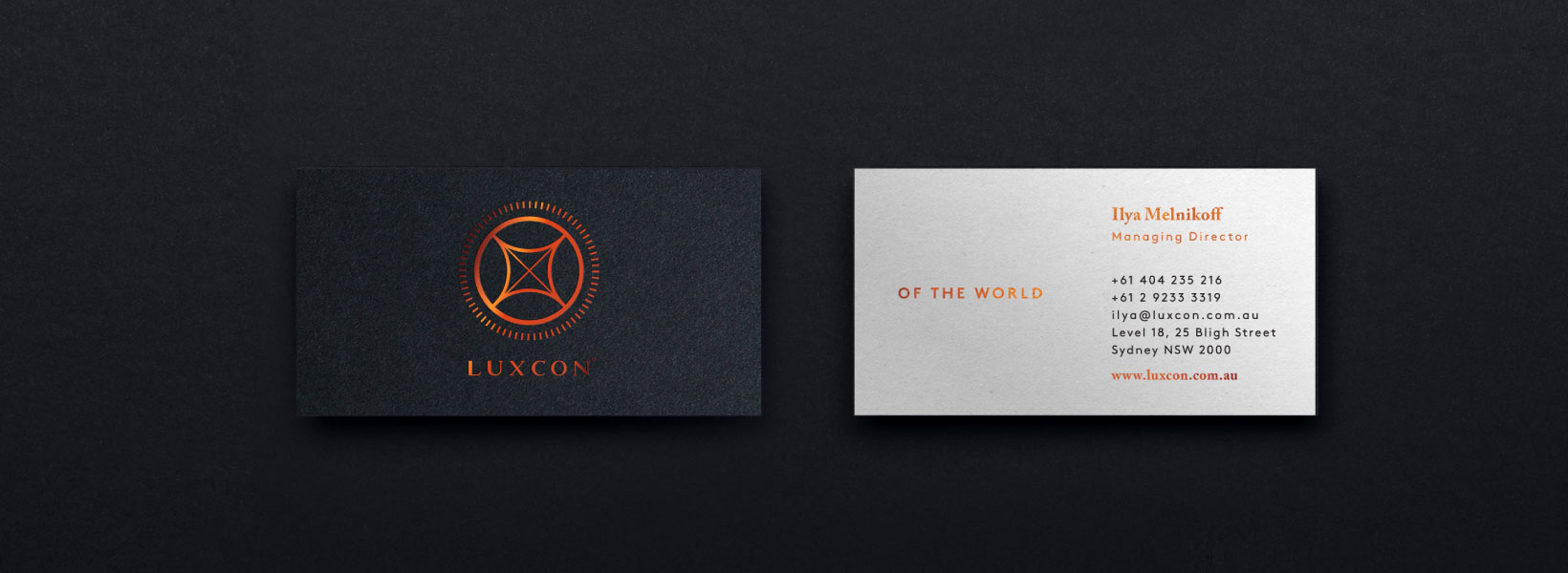 Luxcon – 'Of the World'