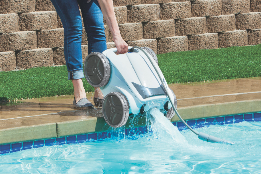 Patented lift-system for easy pool removal