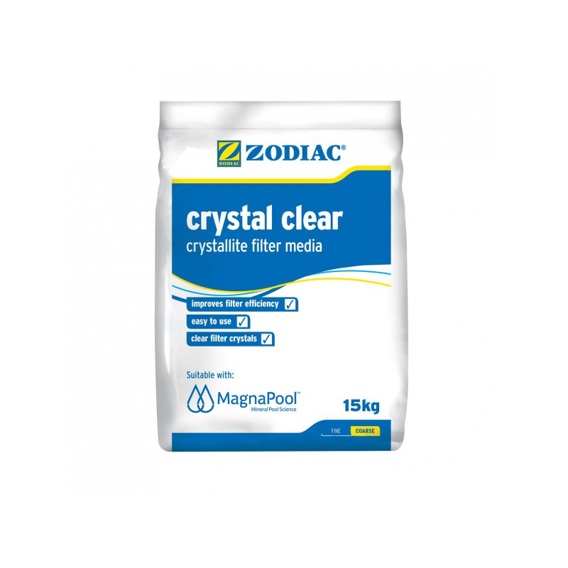 Crystal Clear - Crystallite Filter Media