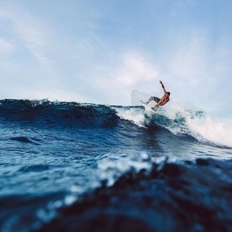 Siargao Island is where we're catching the waves!  Captured by @gubbfet