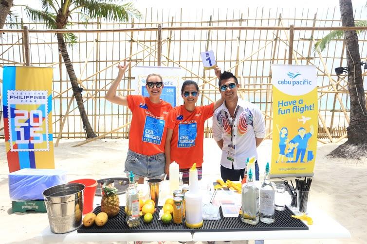 Team Australia wins Bartending Challenge in Boracay