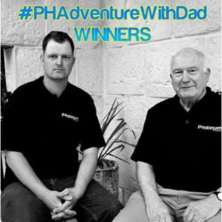 Father's Day is going to be awesome for these two! Congratulations to @david_wimble_bts who wins our promo organised by @tourismphilippines and sponsored by @flypal.  @david_wimble and dad get to enjoy a 3-nights holiday in the beautiful island of Cebu. Cheers to all who joined the promo and a Happy Father's Day and