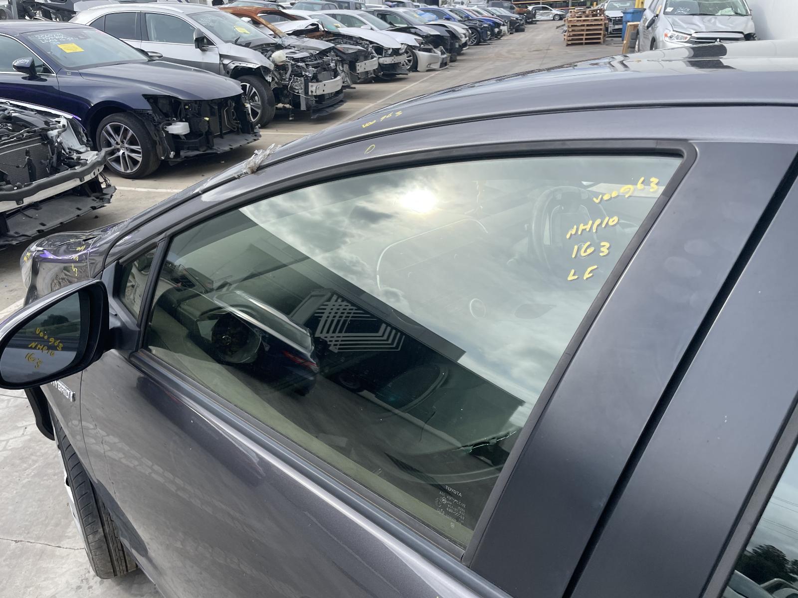 View Auto part Left Front Door Window Toyota Prius 2017
