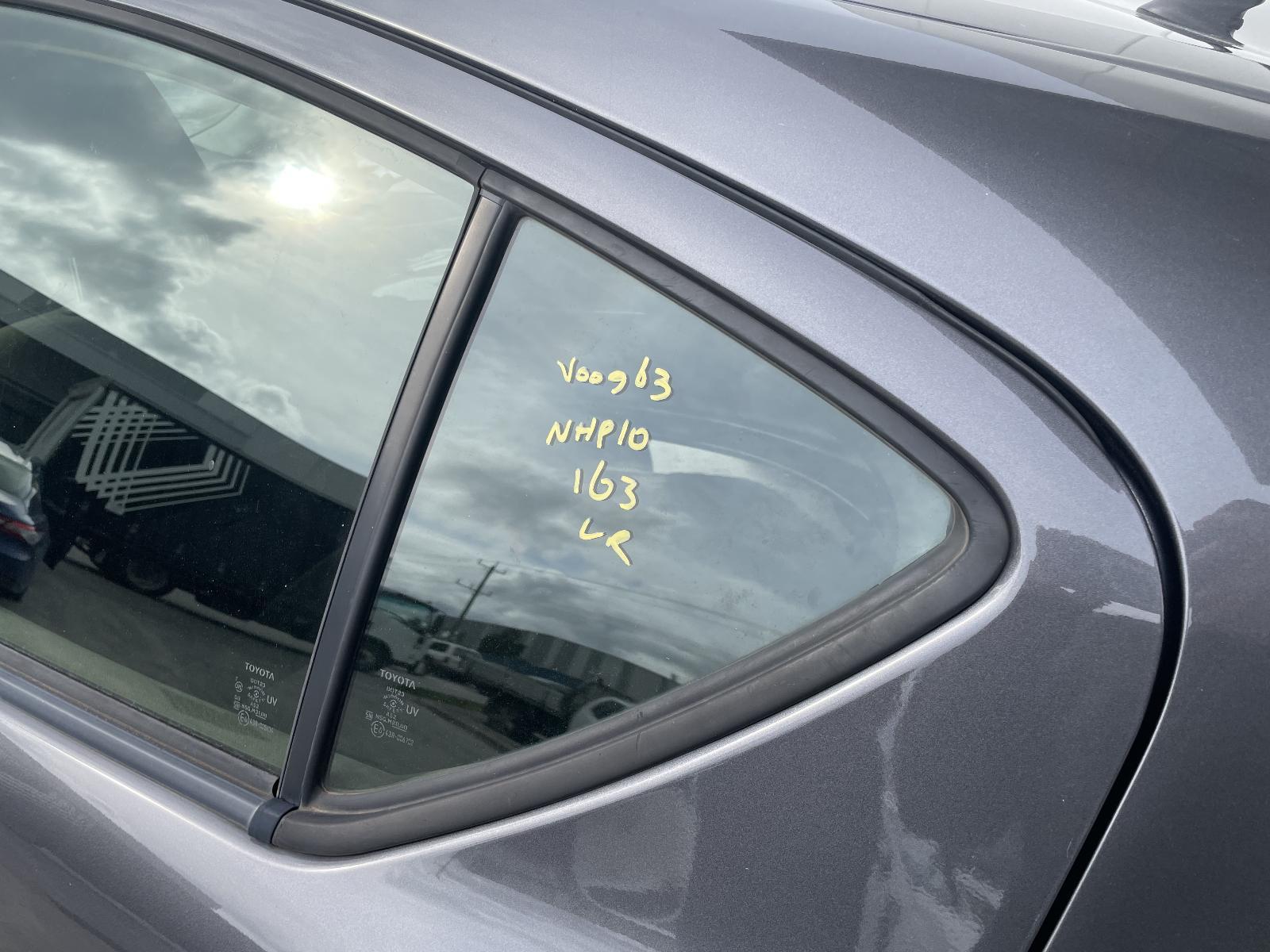 View Auto part Left Rear 1/4 Door Glass Toyota Prius 2017