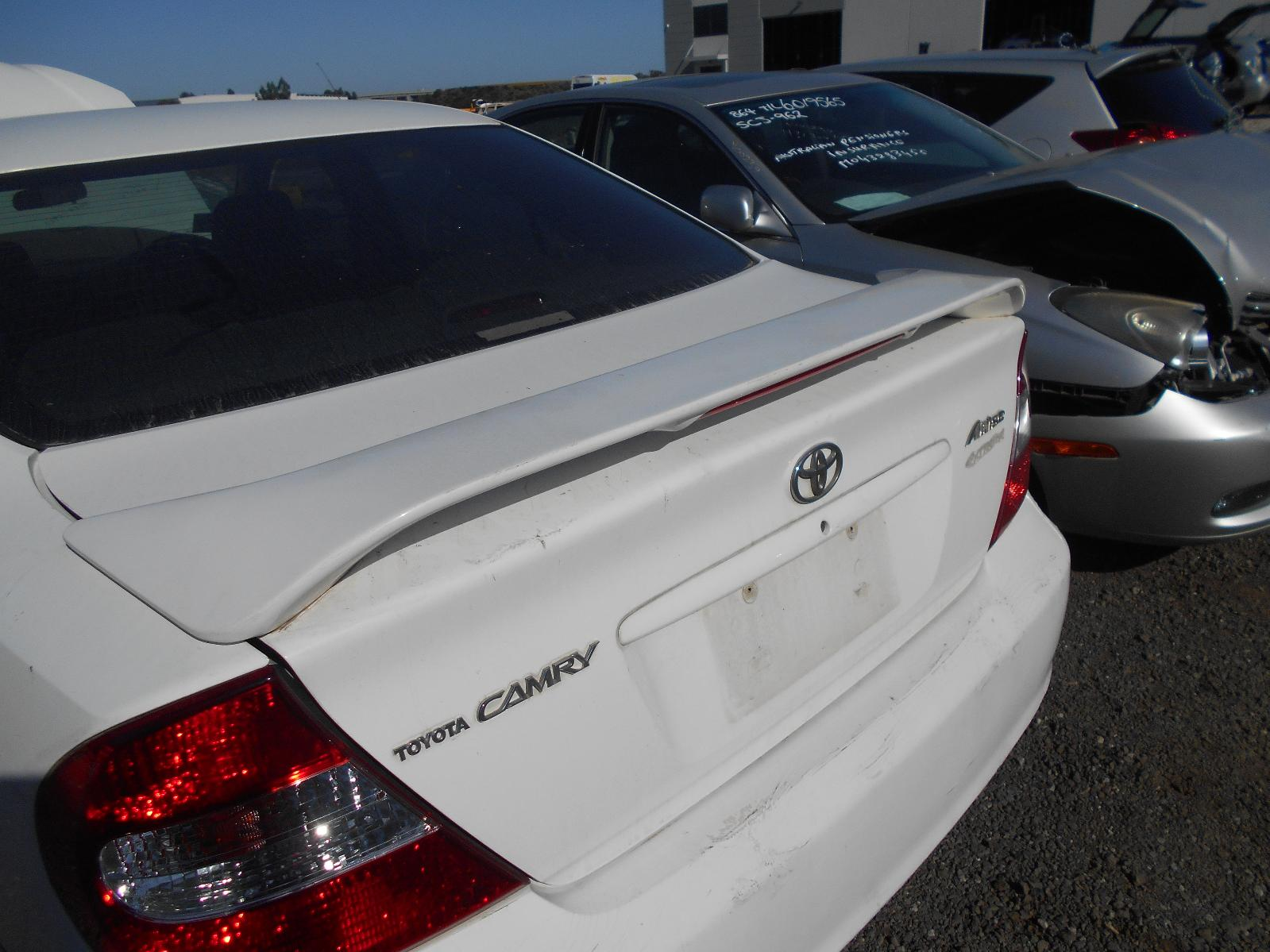 Bootlid/Tailgate Camry Toyota 2003