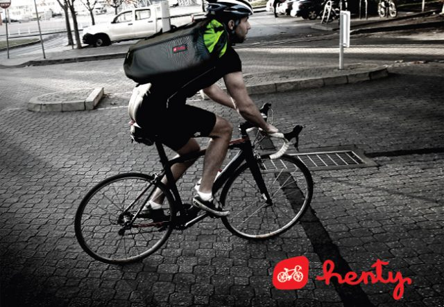 Henty at Treadlie Bike Hub 2014