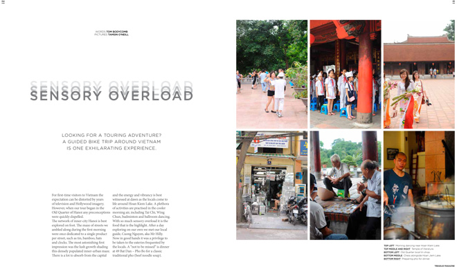 Issue 13 Treadlie Magazine December 2013 Vietnam
