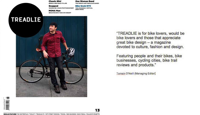 Issue 13 Treadlie Magazine December 2013