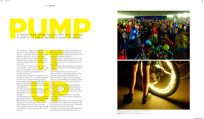Issue 13 Treadlie Magazine December 2013 Bike Raves