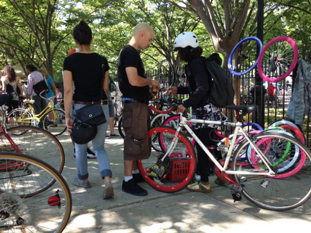 Fall Brooklyn Bike Jumble