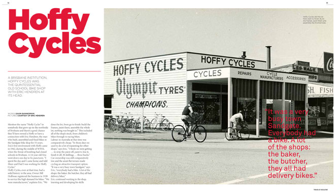 Treadlie Magazine Issue 7 June 2012 - Hoffy Cycles
